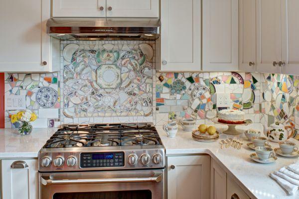 фартук для кухни своими руками на стену