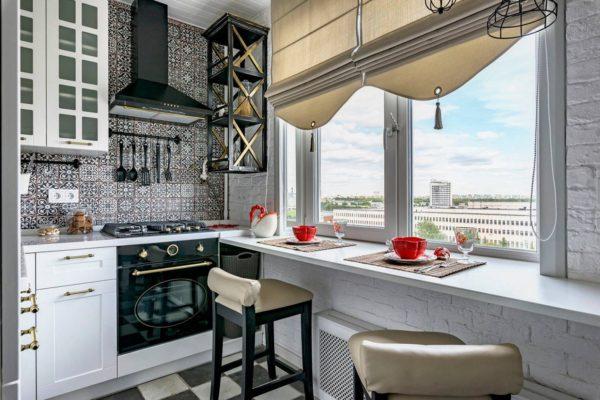 Дизайн кухни площадью 8 кв м