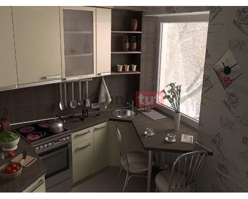 ремонт кухни 6 кв